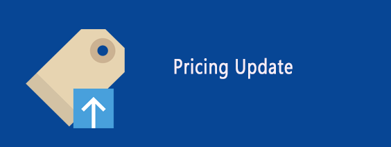 Pricing update