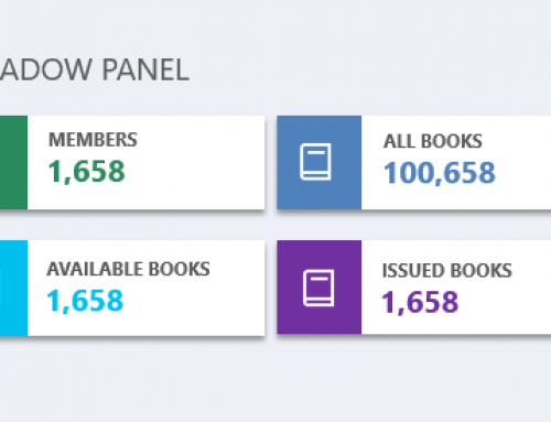 Achieve beautiful dashboard panels in your project using shadow panel
